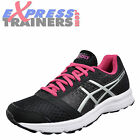 Asics Patriot 8 Womens Runnning Fitness Gym Workout Trainers Black Berry