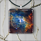 SPACE BUBBLE STARRY NEBULA PENDANTS NECKLACE M - L - XL -nji4Z