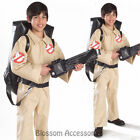 CK273 Licensed Ghostbusters Jumpsuit - Boys Child Fancy Dress Halloween Costume