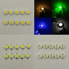 10Pcs LED 3W 210-220LM SMD Bead RGB Red for Floodlight Spot Multi Color Light