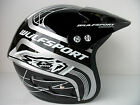 WULFSPORT TRIALS HELMET BLACK (ALL SIZES) WULF BETA SHERCO MONTESA GAS GAS HEBO