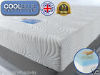 """COOLBLUE COOLFLEX MEMORY FOAM MATTRESS KING 8"""" OR 10"""" THICK"""