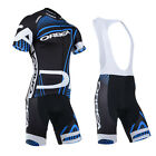 Men Outdoor Bike Sports Bicycle Clothing Breathable Jerseys Bib Shorts Outfits