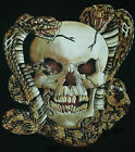 T-Shirt #240 SKULL-SNAKE Route 66 Biker USA Custombike Hot Rod Motorrad USA