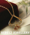 Crystals Pendant&Necklace/Rose gold/RGN004G