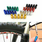 5x Bike Bicycle Fixie MTB Presta Wheel Rim Tyre Stem Air Valve Cap Dust Cover