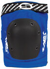 Smith Scabs Safety Gear - BLUE Elite Knee Pads - roller derby skateboard inline image