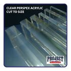 CLEAR ACRYLIC 148mm X 210mm A5 SIZE SHEET 2mm 3mm 4mm 5mm 6mm 8mm 10mm thick
