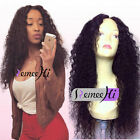 Affordable Brazilan 100%Human Hair Spanish Deep Curly Full/Front Lace Wig Soft