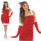 Ladies Christmas Flapper Fancy Dress Costume Charleston 1920S Outfit UK 8-30
