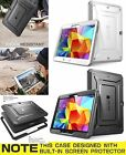"""Hard Shell For Galaxy Tab 4 10.1"""" Full Body Case Cover Screen Protector SUPCASE"""