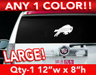 "BUFFALO BILLS LOGO LARGE DECAL STICKER 12""x 8"" ANY 1 COLOR $11.99 USD on eBay"