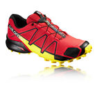 Salomon Speedcross 4 Mens Red Water Resistant Running Sport Shoes Trainers Pumps