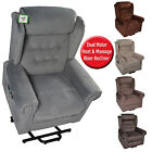 SYMPHONY ELECTRIC FABRIC DUAL MOTOR MASSAGE HEAT RISER RISE RECLINER LIFT CHAIR