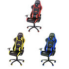 Merax Racing Office Gaming Chair Executive High Back Pu Leather Computer Desk