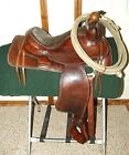 TEX TAN HEREFORD 15 1 2 Vintage WESTERN SADDLE ROPING or trail riding