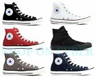 white canvas shoes for men -  CONVERSE Chuck Taylor All Star High Top Canvas Shoes