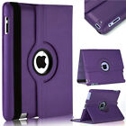 """360 Rotating Leather Folio Stand Smart Magnetic Cover Case for iPad Pro 12.9"""""""