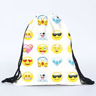 Kids Girls Drawstring Backpack Cinch Sack School Gym Bag Travel Beach Swim Pack