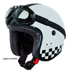 Caberg Freeride Indy Open-Face Helmet - White/Black LAST ONE XS