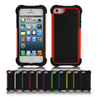 Shockproof 360° Heavy Duty Protective Hybrid Case Cover For Apple iPhone 5s / 5