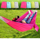 Travel Camping Outdoor Nylon Fabric Hammock Parachute Bed for Double Person UY