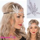 1920s 20s Great Gatsby Headband Vintage Bridal Fancy Dress Costume Accessory