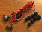 Genuine Authentic Monster Beats by Dr. Dre Ibeats In Ear Headphones Chrome/Black