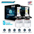 CREE COB H4 HB2 9003 1700W 255000LM LED Headlights Kits Hi/Low Power Bulbs 6000K
