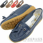 Ladies / Womens 100% Leather Casual / Formal Summer / Holiday Flats / Shoes