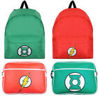 DC Comics The Flash / Green Lantern Rucksack Backpack / Satchel Bag New Official