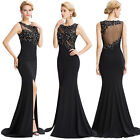 Eleagnt Mermaid Long Prom Evening Dress Formal Party Cocktail Bridesmaid Gown