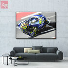 Canvas print wall art big poster Motorcycle Superbike Valentino Rossi racing