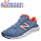 New Balance 690 v4 Womens Running Shoes Fitness Gym Trainers Grey Coral