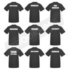 T SHIRT TEE TOP SECURITY BOUNCER DOORMAN GUARD CUSTOM PRINT WORK WEAR CLOTHING