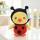 Yellow Chicken Doll Creative Pillow Plush Toys Kids Girls Birthday Gifts 18 35CM