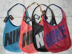 NIKE GRAPHIC REVERSIBLE FITNESS TOTE GYM BAG NWT