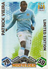 MATCH ATTAX 09/10 Patrick Vieira MANCHESTER CITY Limited Edition