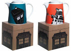 Dr Who / Doctor Who Stoneware Teapot Dalek / Tardis New & Official BBC In Box
