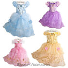 K202 Deluxe Girls Princess Costume Fairytale Dress Book Week Party Disney Outfit