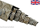 1.5mm Chequer Plate Folded Angle Corner Protector 10 Sizes 15 Lengths available