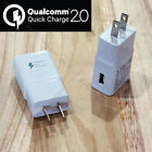 9V Qualcomm Certificated Quick Charge 2.0 USB Wall Fast Charger Adapter US PLUG