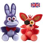 "FNAF Five Nights At Freddy's 10"" Plush Soft Toy Gift Foxy PIRAT Bonnie UK Seller"