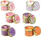 BOMB COSMETICS SCENTED TINNED CANDLE HIGHLY FRAGRANCED HOME FRAGRANCE LUXURY