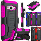 at & t samsung - For Samsung Galaxy Amp 2 / Luna 2016 Case Shockproof Hybrid Holster Stand Cover
