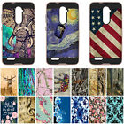 For ZTE Zmax Pro Z981 / Carry Rose Color Hybrid Dual Layer Armor Cover Case
