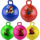 Kids Large Space Hopper Jump & Bounce Retro Ball Safe Handle Bouncy Toy Outdoor