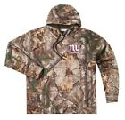 NEW 2XL 4XL 5XL M NFL RealTree New York Giants Mens Camo Hunting Hoodie Hooded $28.97 USD on eBay