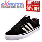 Adidas Neo Park ST Womens Classic Casual Suede Leather Retro Trainers Black