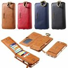 Floveme 2in1 Leather Card Business Wallet Case Samsung Galaxy Note 5/S6 Edge +